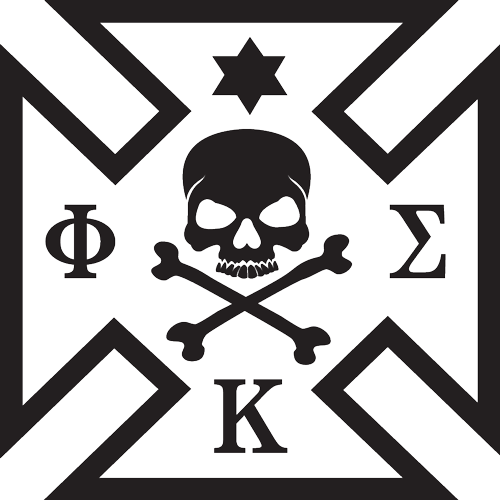 Phi Kappa Sigma Black Maltese Cross